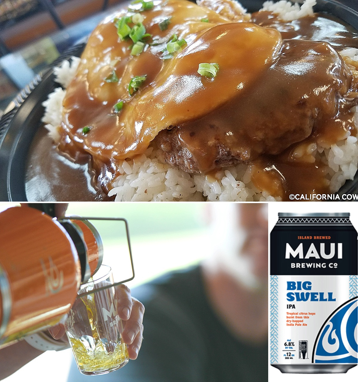 best beer with loco moco