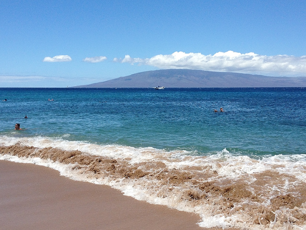 summer travel on maui
