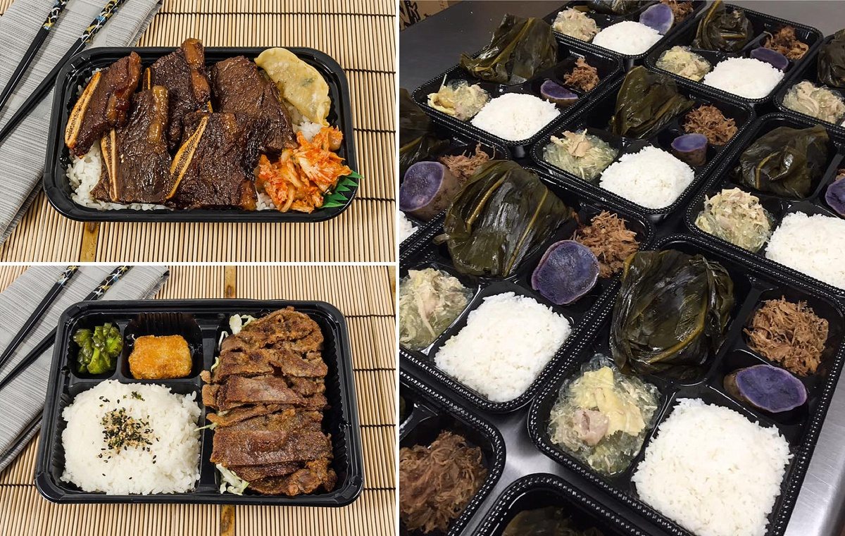 hawaii street food bento box