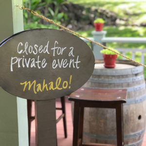 private maui wine tasting